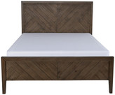 Kosas Bowen Reclaimed Pine Queen Bed by Home