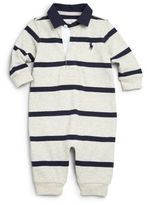 Ralph Lauren Baby's Striped Coverall