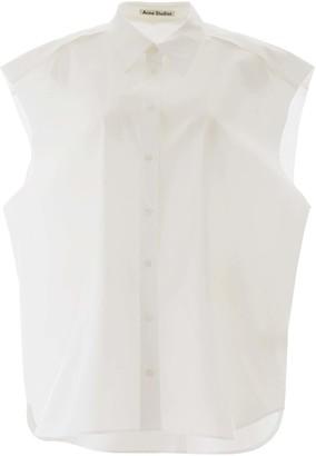 Acne Studios OVERSIZED SHIRT S/M White Cotton