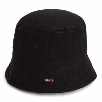 A. Kurtz Men's Solid Bucket Hat