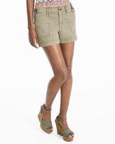 White House Black Market 3 1/2-inch Chino Shorts