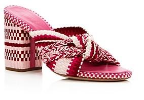 Antolina Women's Woven Block Heel Sandals