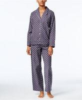 Alfani Printed Flannel Pajama Set, Only at Macy's