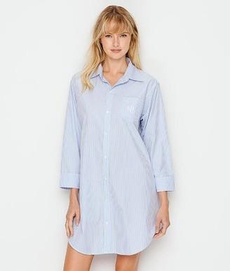 Lauren Ralph Lauren Heritage Essentials Woven Sleep Shirt
