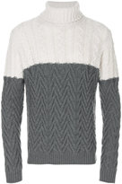Roberto Collina colour block jumper