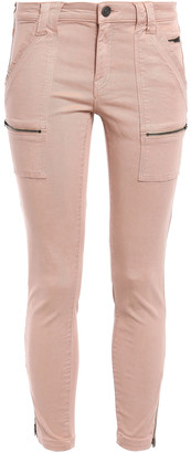 Joie Cropped Mid-rise Skinny Jeans
