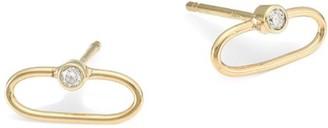 Zoë Chicco 14k Gold & Diamond Stud Earrings