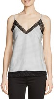 Maje Lanette Lace-Trimmed Camisole Top