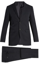 Lanvin Attitude-fit Cotton-twill Suit
