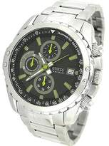 GUESS GUESS? Men's U16526G1 Silver Stainless-Steel Quartz Watch with Dial