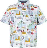 Monsoon George Print Short Sleeve Shirt