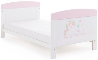 O Baby Grace Inspire Cot Bed - Unicorn