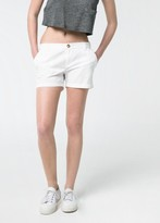 MANGO Outlet Cotton Chino Shorts