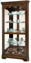 Howard Miller Tessa Curio Cabinet in Hampton Cherry