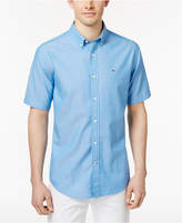Tommy Hilfiger Men's Delaware Brush Print Cotton Shirt
