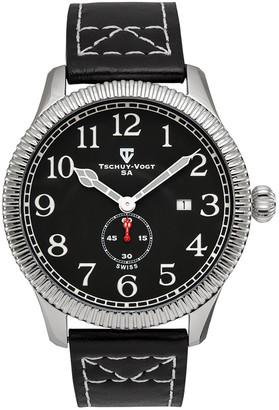 Tschuy-Vogt Men's Leather Watch