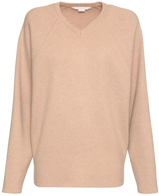 Stella McCartney V Neck Wool Knit Sweater
