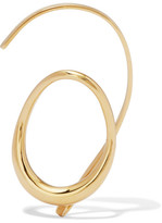 Charlotte Chesnais Caracol Gold-dipped Ear Cuff - one size