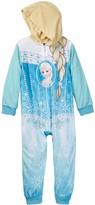 AME Frozen Elsa Hooded Fleece Costume Blanket Sleeper (Little Girls & Big Girls)