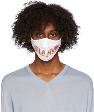 Lanvin Two-Pack Multicolor Logo Face Masks
