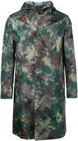 MACKINTOSH camouflage coat - men - Nylon - 36