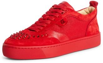 Christian Louboutin Happyrui Spikes Low Top Sneaker