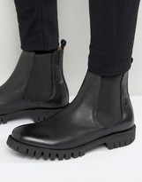 Selected Homme Varian Leather Chelsea Boots