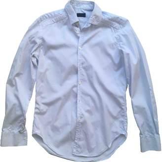 Lanvin Blue Cotton Shirts