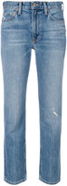 Vince cropped slim-fit jeans