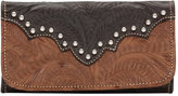 American West Women's Annie's Secret Tri-Fold Wallet