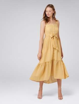 Ever New Tanya Stripe Button-Through Dress