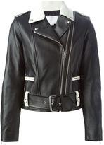 Alexander Wang belted biker jacket