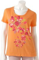 Sonoma life + style ® floral tee