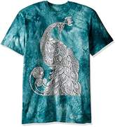 The Mountain Men's Colorwear Eva Peacock Adult Coloring T-Shirt