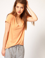 James Perse Relaxed Casual V Neck Tee