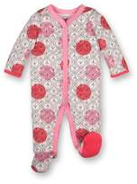 Lamaze Polka Dot and Arrow Footie in Pink/Red