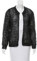 Balenciaga Open Front Knit Cardigan w/ Tags
