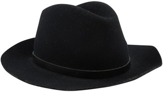 Rag & Bone Black Wool Hats