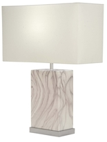 Rectangular Ceramic Table Lamp