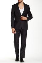 Vince Camuto Notch Lapel Two Button Wool Suit
