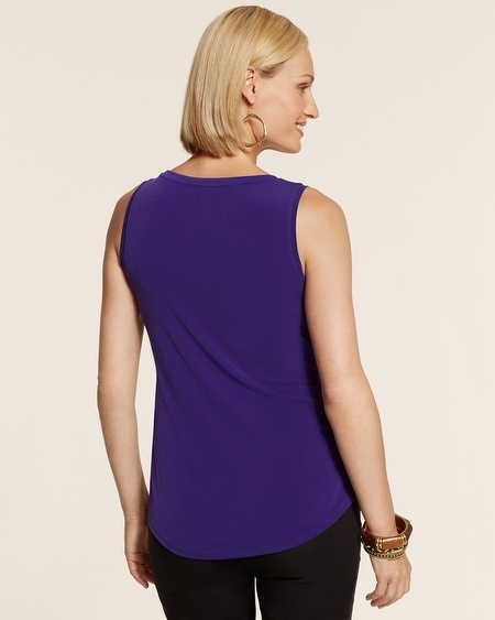 Chico's Ity High-Lo Tank