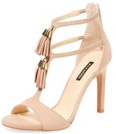 Ava & Aiden T-Strap Heeled Sandal
