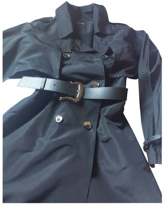 Fendi Black Silk Trench coats