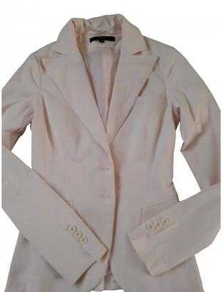 Elisabetta Franchi Pink Cotton Jacket for Women
