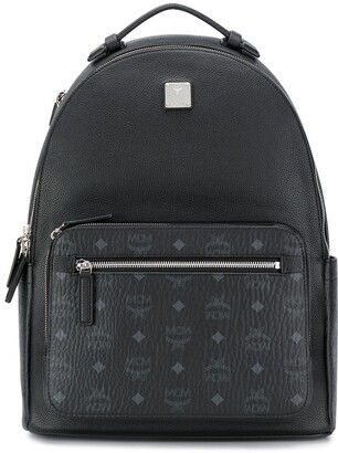 MCM Round-Top Structured Backpack