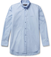 Balenciaga - Embroidered Cotton-poplin Shirt
