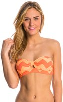 O'Neill Swimwear Ziggy Stripe Bandeau Bikini Top 8113321