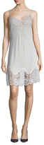 Givenchy Silk Lace Trimmed Slip Dress