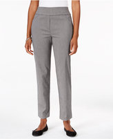Alfred Dunner Pull-On Slim-Leg Pants