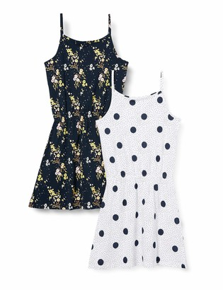 Name It Girl's Nkfvigga 2p Strap Dress H Playwear